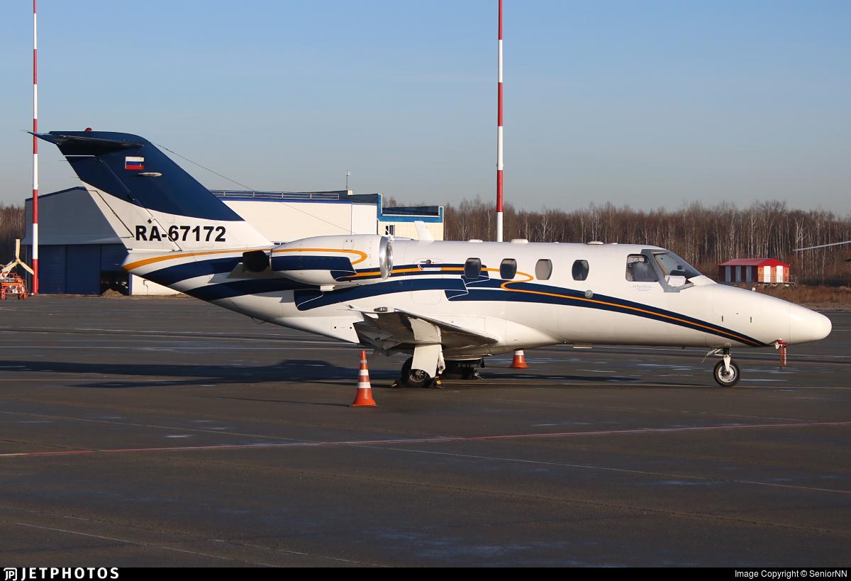 RA-67172 - Cessna 525 Citationjet CJ1 - Jet Travel Club