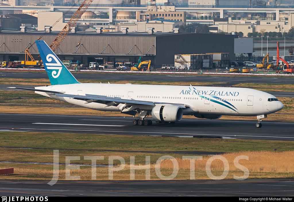 ZK-OKF - Boeing 777-219(ER) - Air New Zealand