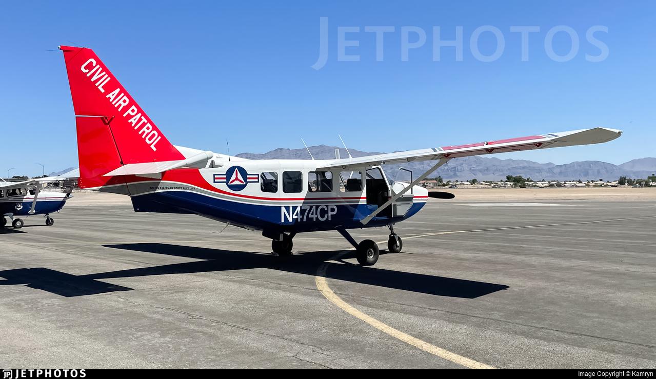 N474CP - Gippsland GA-8 Airvan - United States - US Air Force Civil Air Patrol