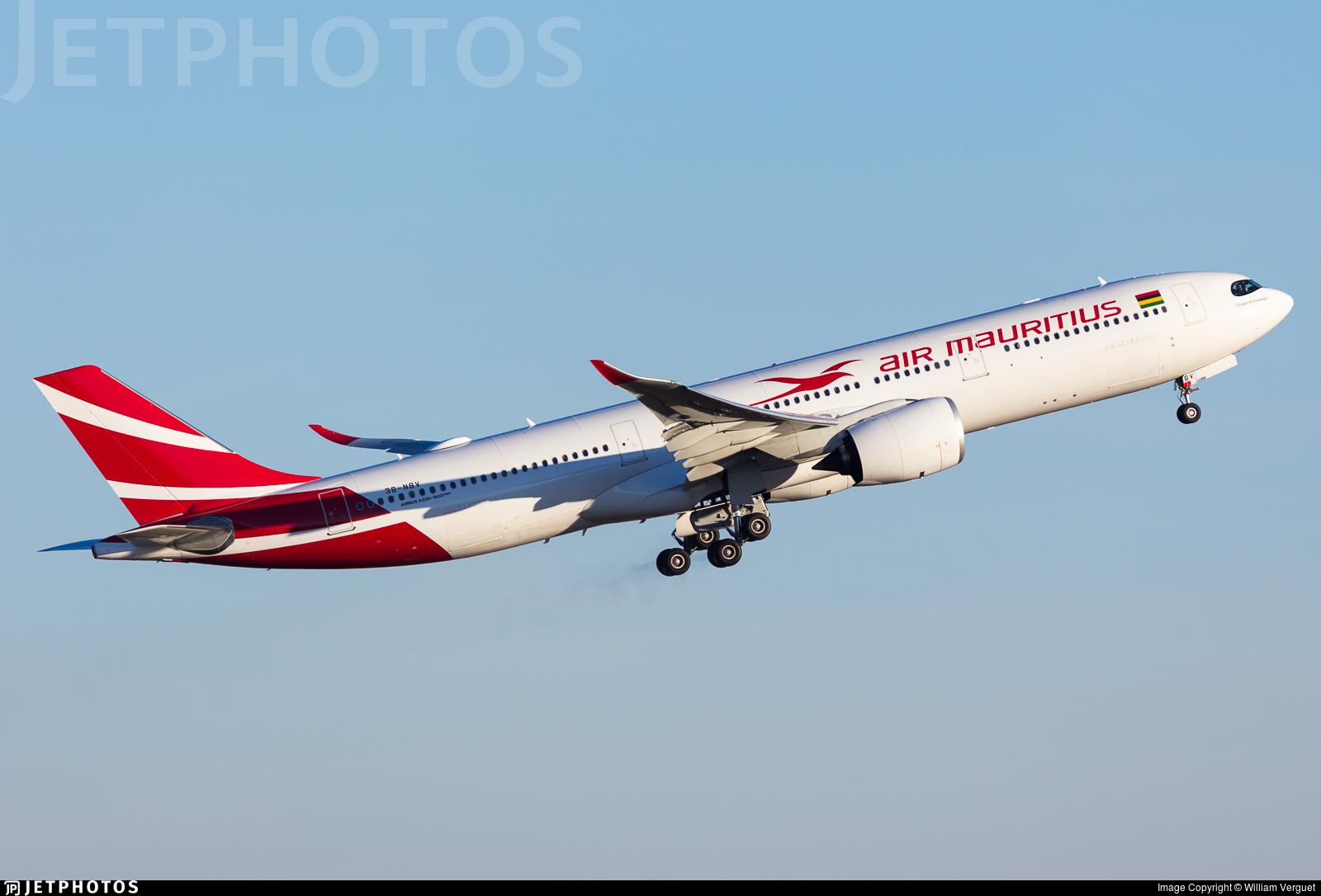 3B-NBV - Airbus A330-941 - Air Mauritius