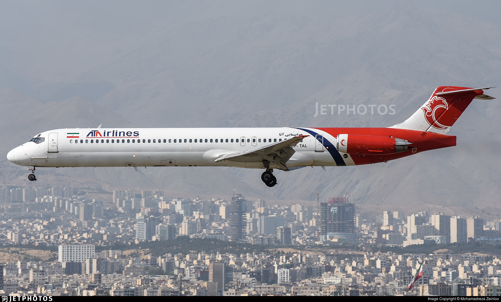 EP-TAL - McDonnell Douglas MD-83 - ATA Airlines [Iran]