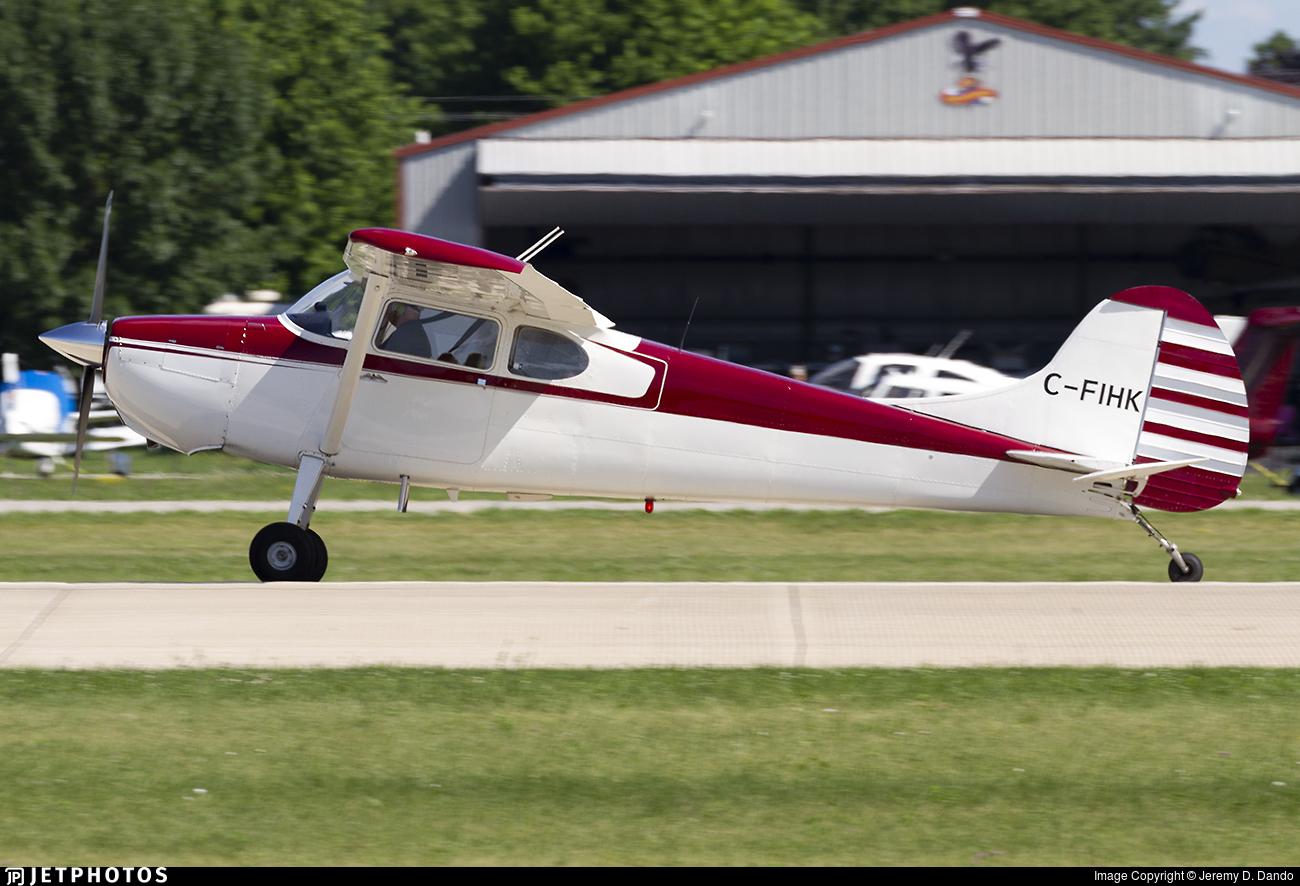 C-FIHK - Cessna 170B - Private