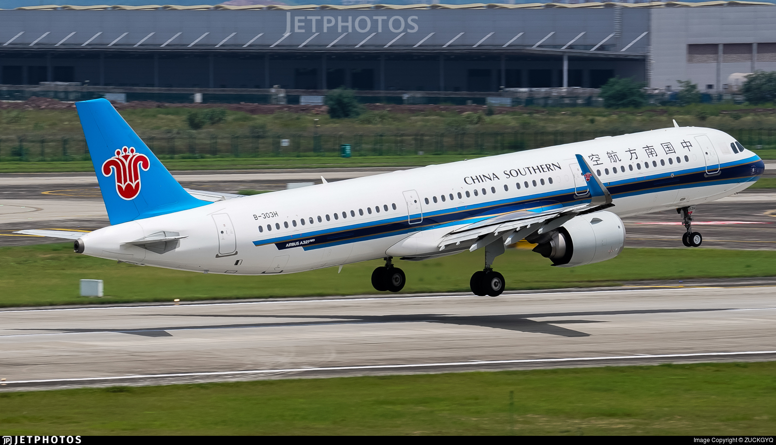 B-303H - Airbus A321-253N - China Southern Airlines