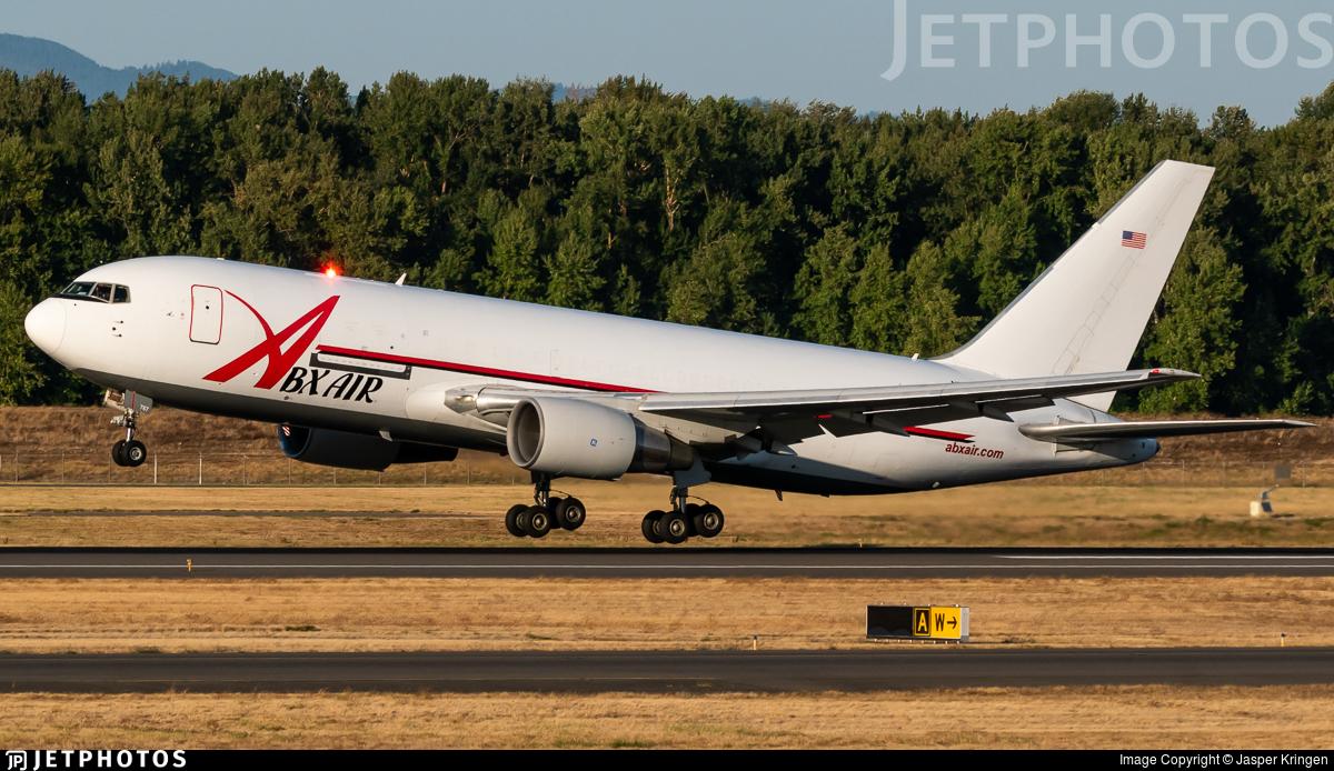 N767AX - Boeing 767-281(BDSF) - ABX Air