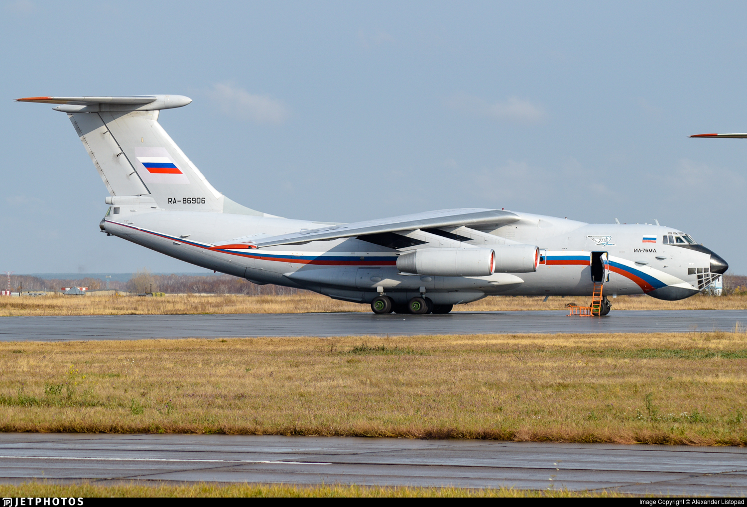 RA-86906 - Ilyushin IL-76MD - Russia - 223rd Flight Unit State Airline