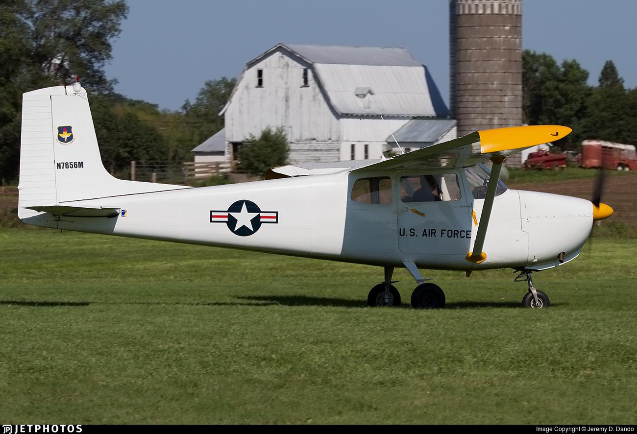 N7656M - Cessna 175 Skylark - Private