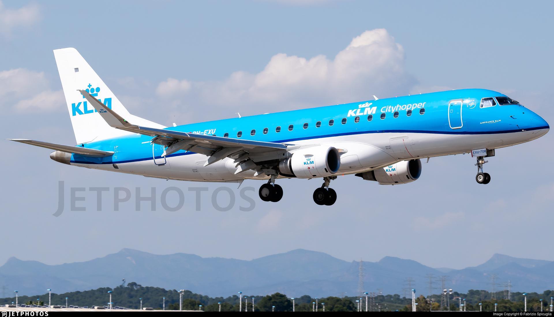 PH-EXU - Embraer 170-200STD - KLM Cityhopper