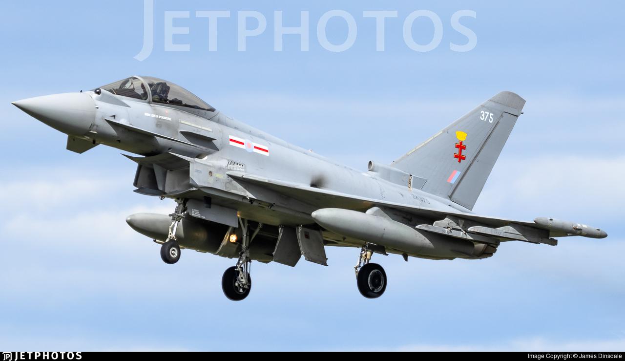 ZK375 - Eurofighter Typhoon FGR.4 - United Kingdom - Royal Air Force (RAF)