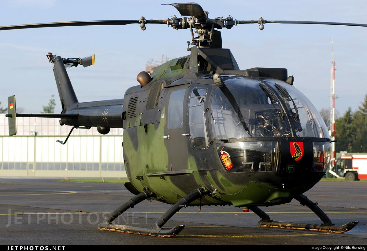86-47 - MBB Bo105P1 - Germany - Army