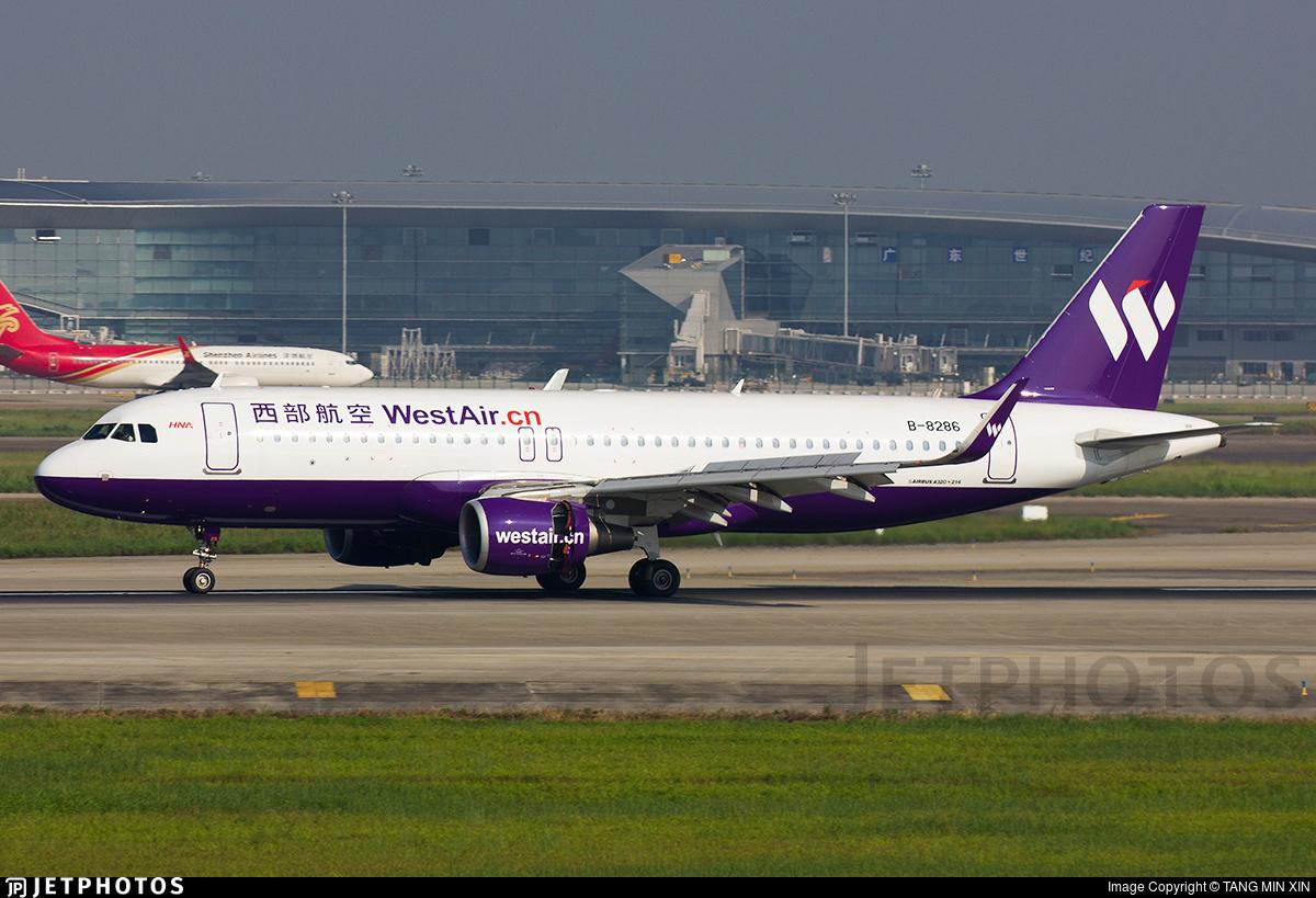B-8286 - Airbus A320-214 - West Air