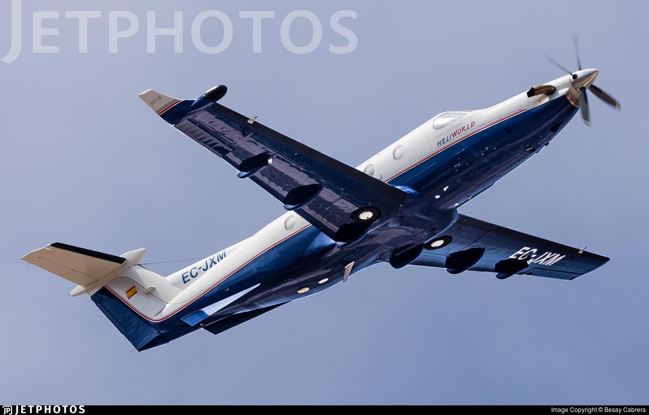 EC-JXM - Pilatus PC-12/45 - Private