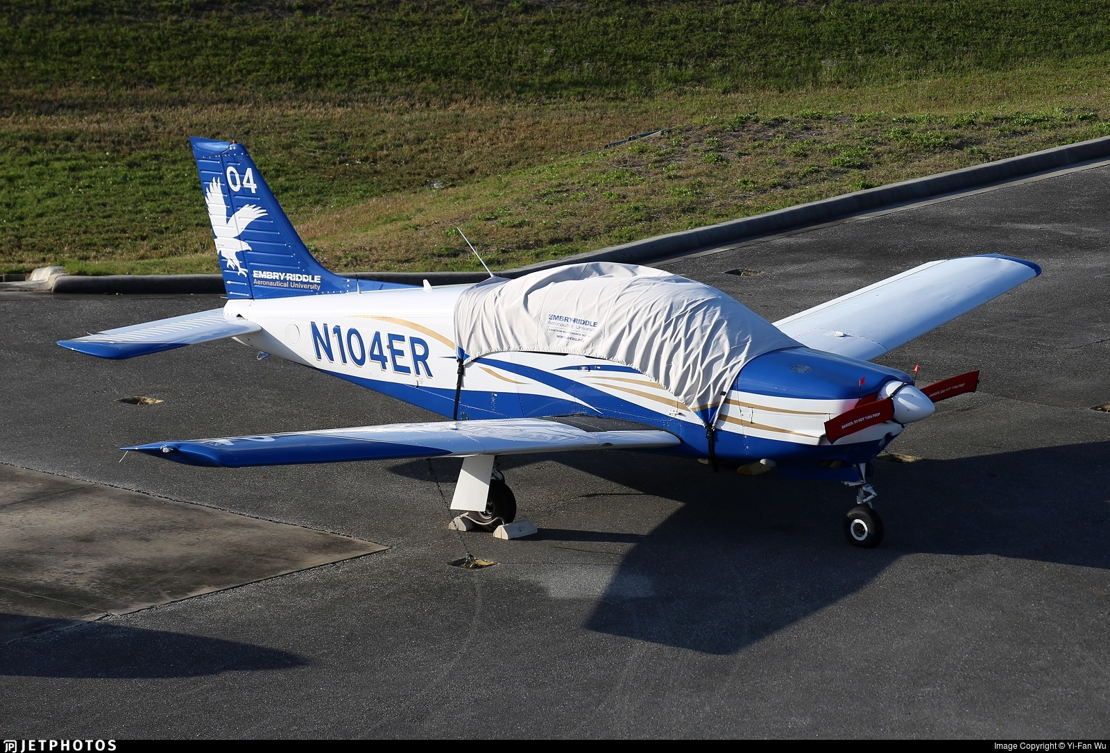 N104ER - Piper PA-28R-201 Arrow - Embry-Riddle Aeronautical University (ERAU)