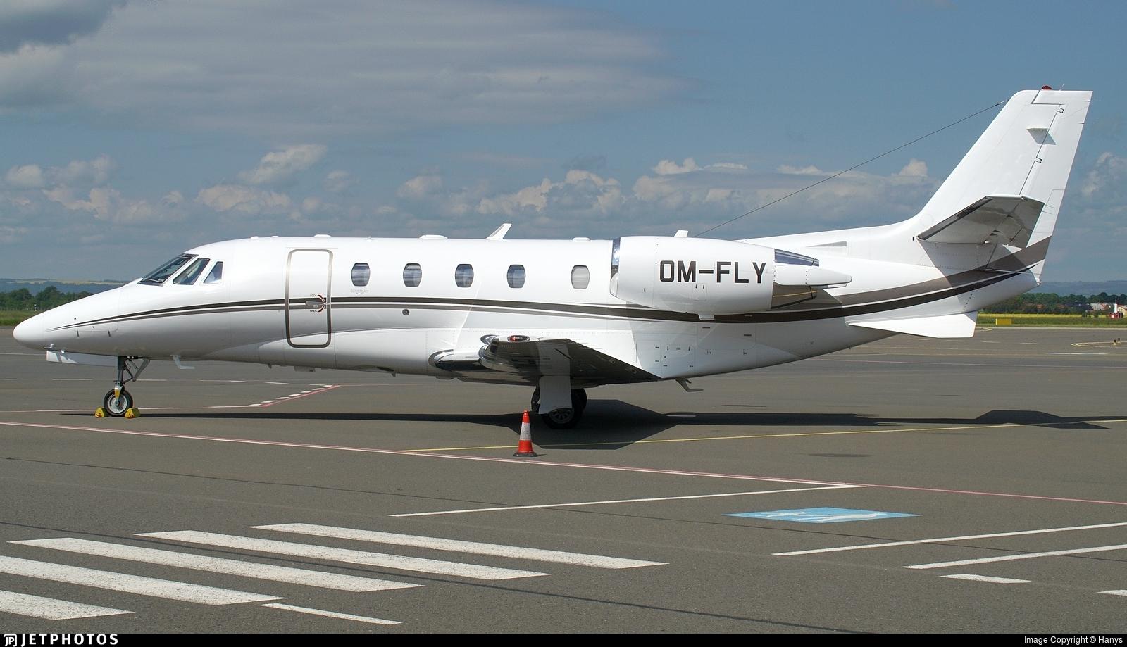 OM-FLY - Cessna 560XL Citation XLS Plus - Elite Jet