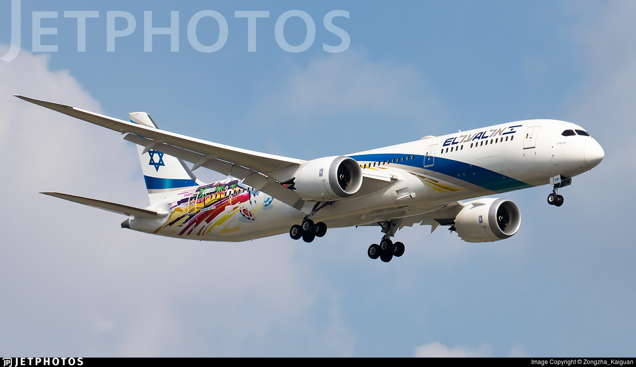 4X-EDD - Boeing 787-9 Dreamliner - El Al Israel Airlines
