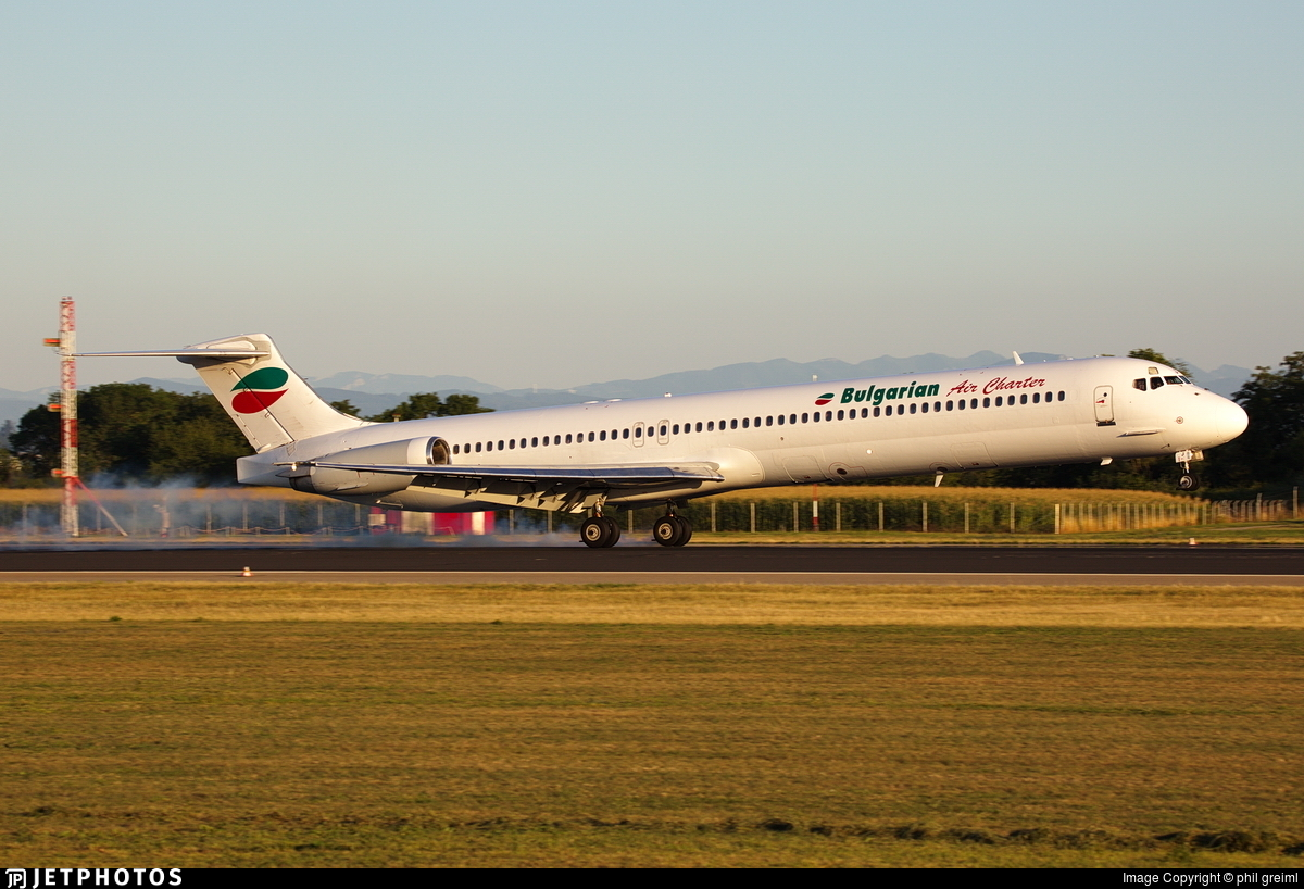 LZ-LDJ - McDonnell Douglas MD-82 - Bulgarian Air Charter (BAC)