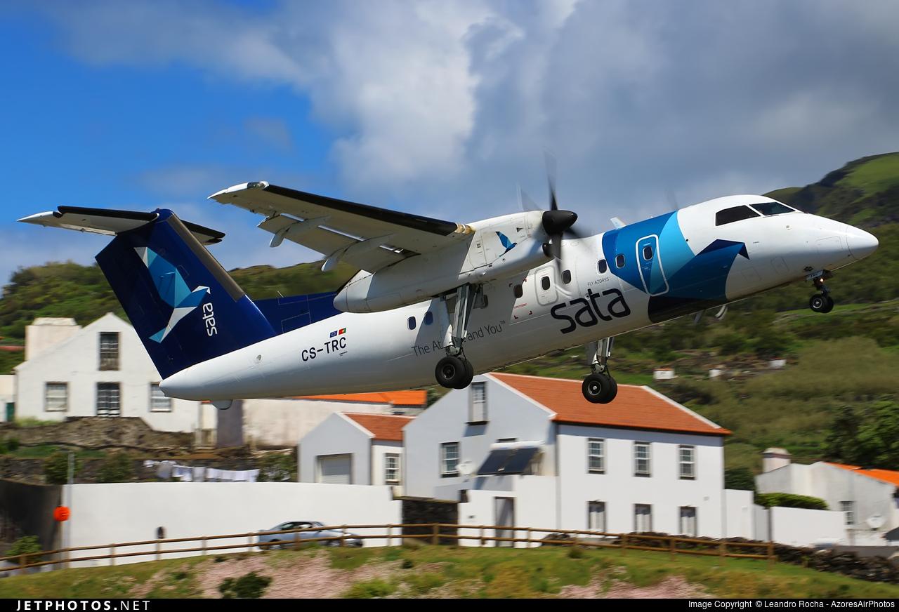 CS-TRC - Bombardier Dash 8-Q202 - SATA Air Açores