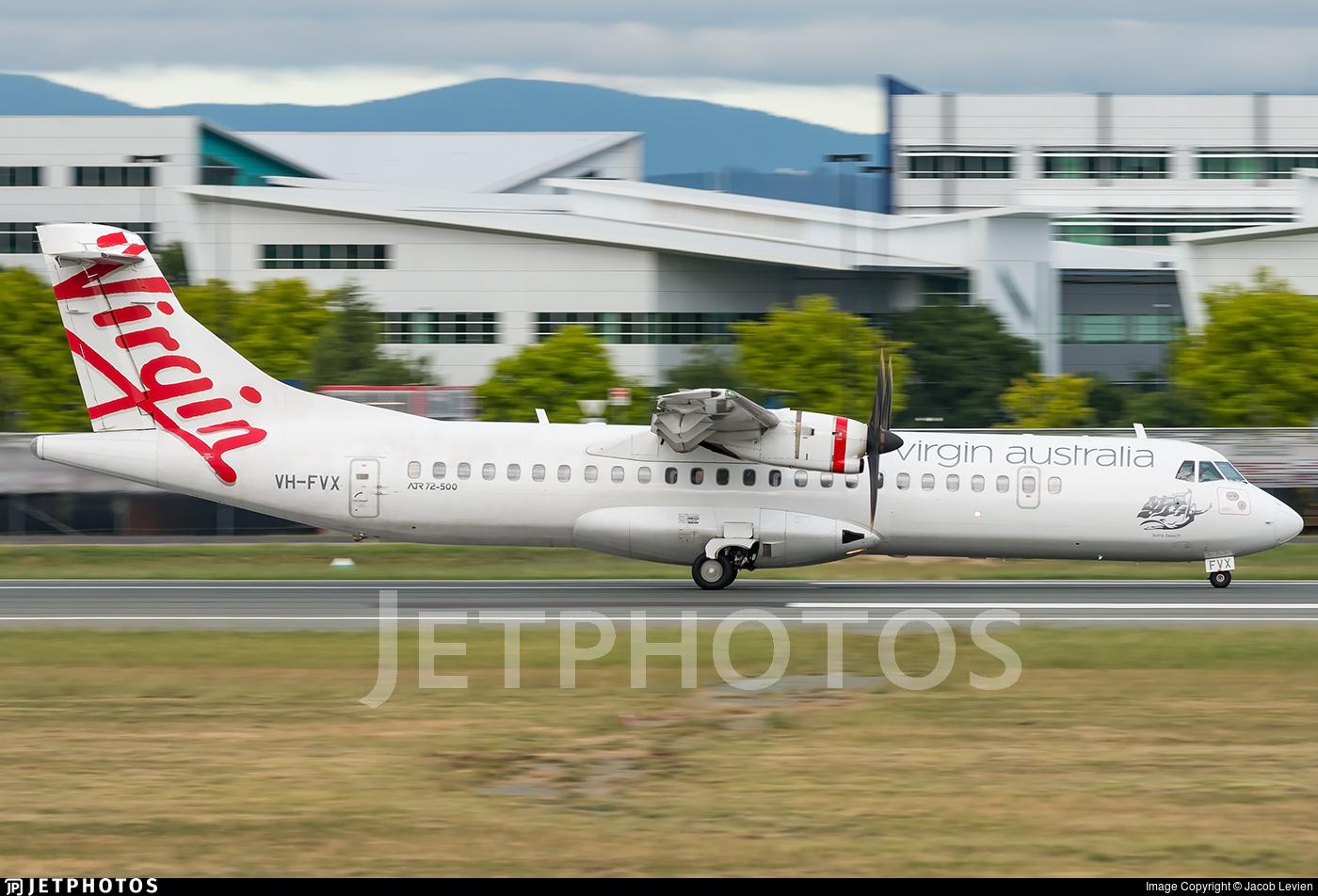 VH-FVX - ATR 72-212A(500) - Virgin Australia Airlines