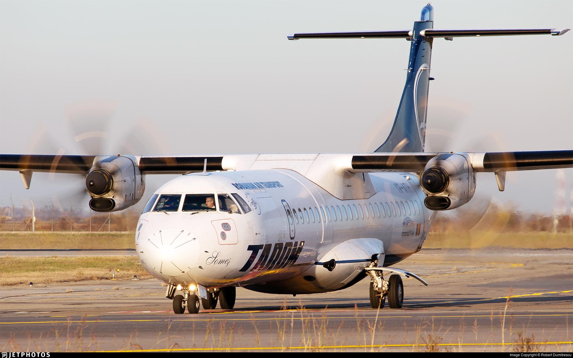 YR-ATH - ATR 72-212A(500) - Tarom - Romanian Air Transport