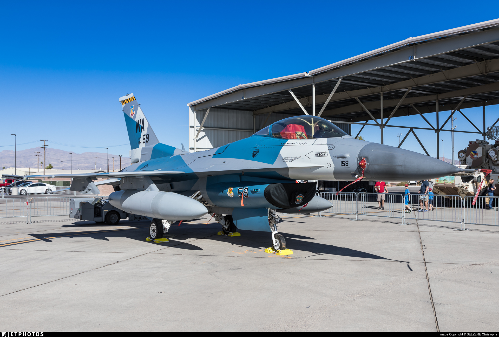 83-1159 - General Dynamics F-16C Fighting Falcon - United States - US Air Force (USAF)