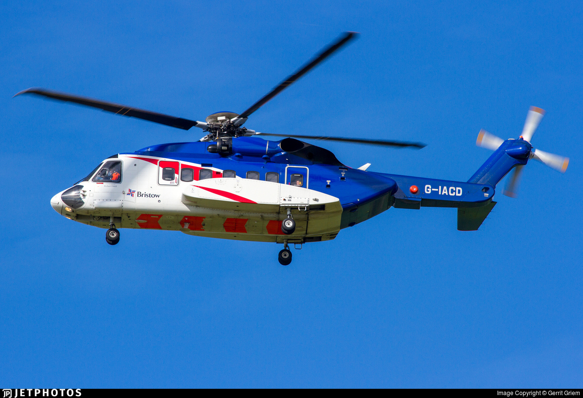 G-IACD - Sikorsky S-92A Helibus - Bristow Helicopters