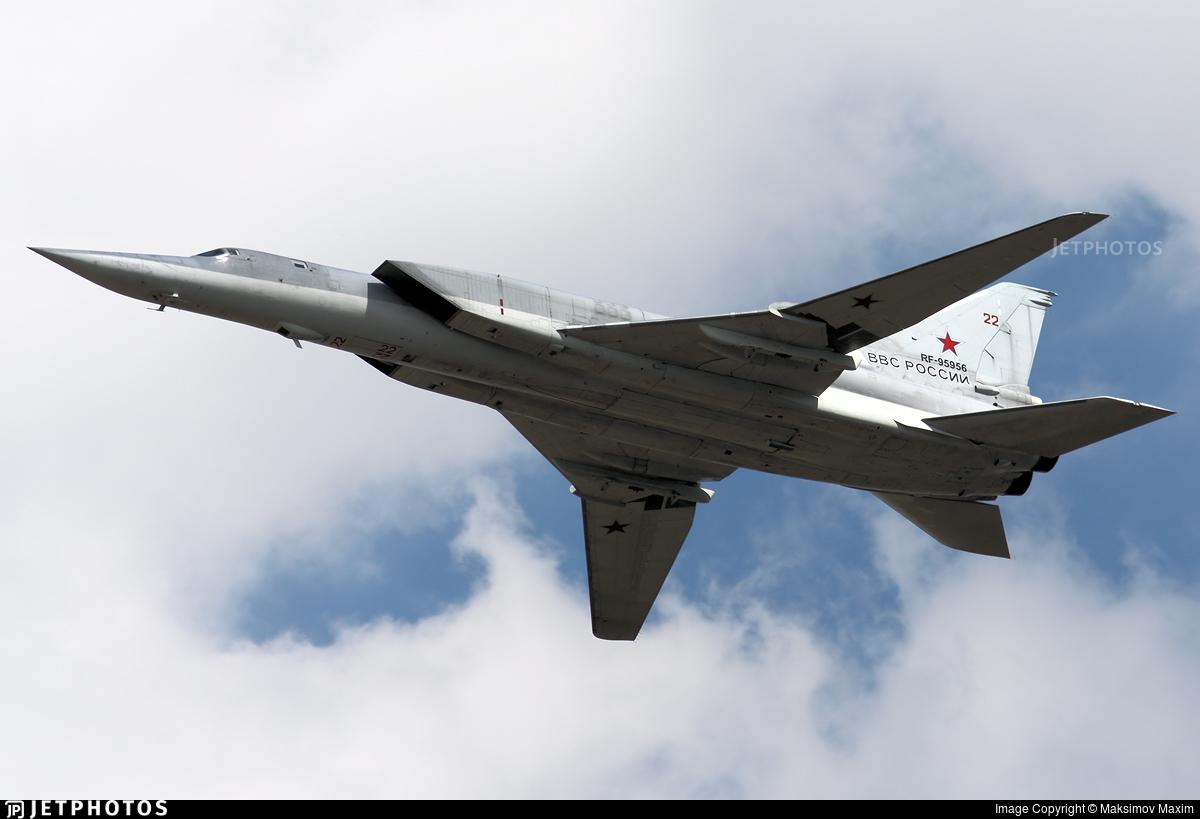 RF-95956 - Tupolev Tu-22M3 Backfire - Russia - Air Force