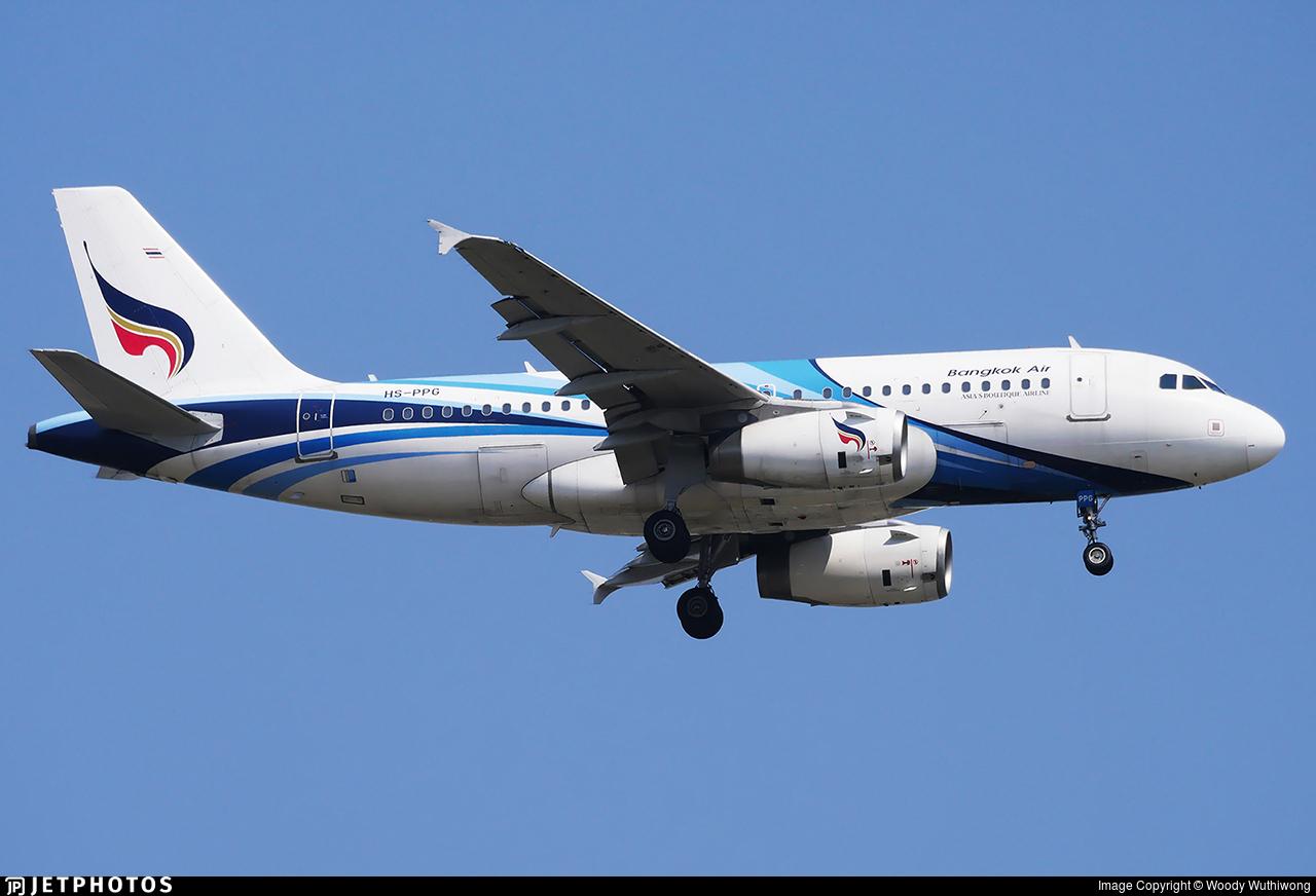 HS-PPG - Airbus A319-132 - Bangkok Airways