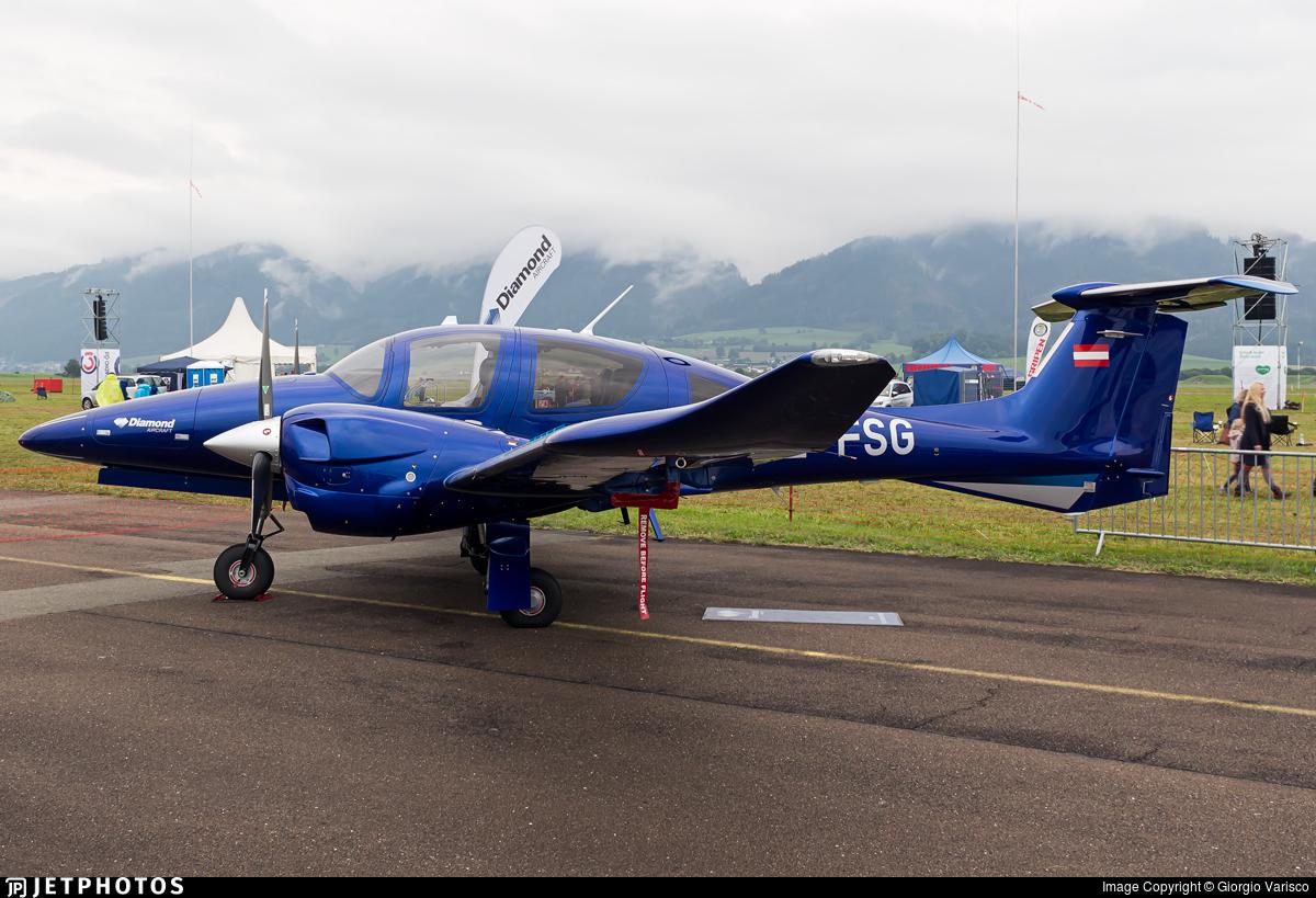 OE-FSG - Diamond Aircraft DA-62 - Diamond Aircraft Industries