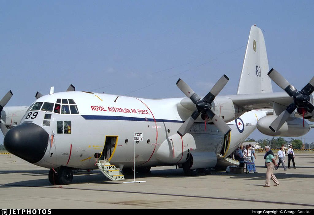 A97-189 - Lockheed C-130E Hercules - Australia - Royal Australian Air Force (RAAF)