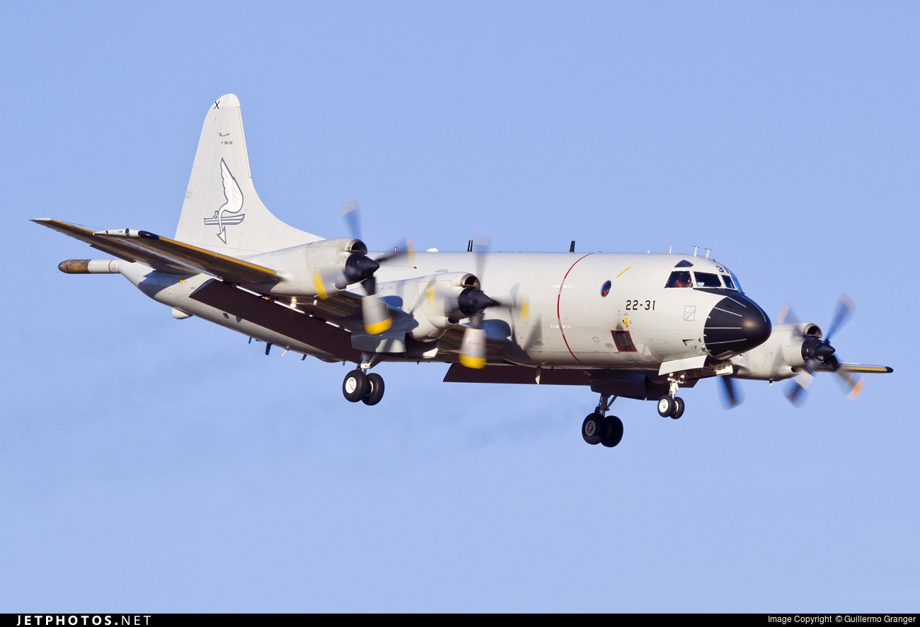 Risultati immagini per Spanish Air Force Lockheed P-3M Orion ( P.3M-9 )