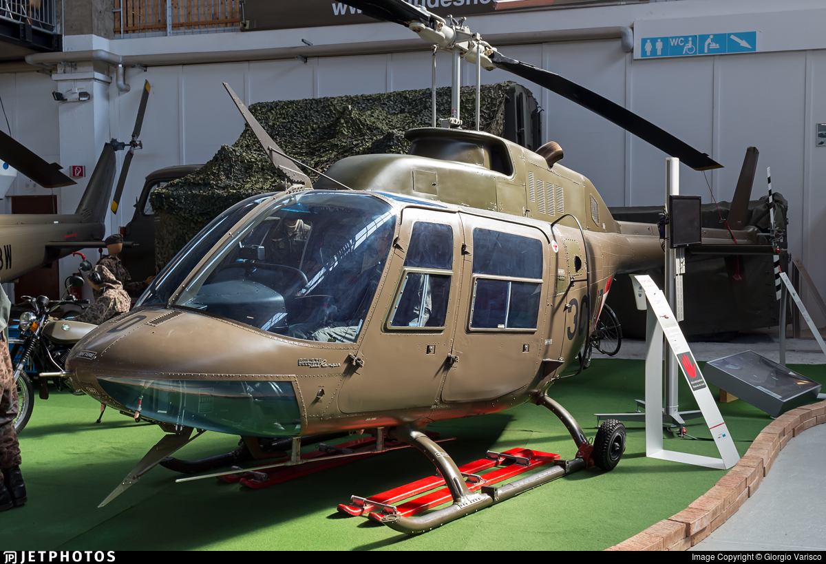 3C-JD - Agusta-Bell AB-206A JetRanger - Austria - Air Force