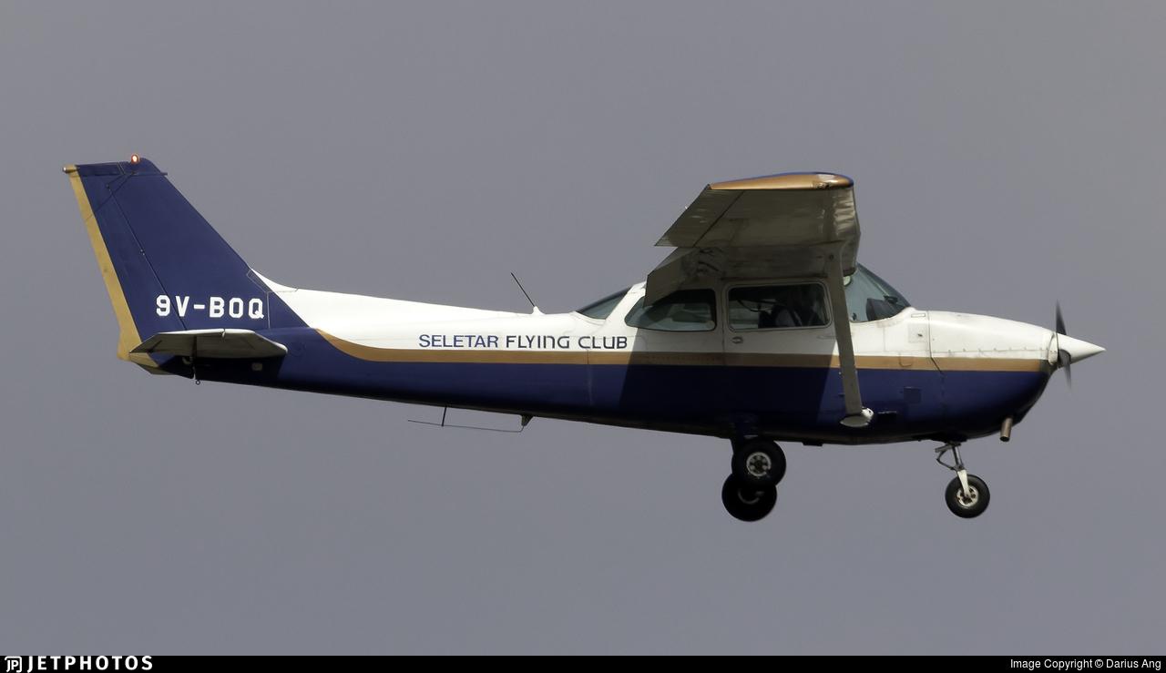 9V-BOQ - Cessna 172N Skyhawk - Seletar Flying Club