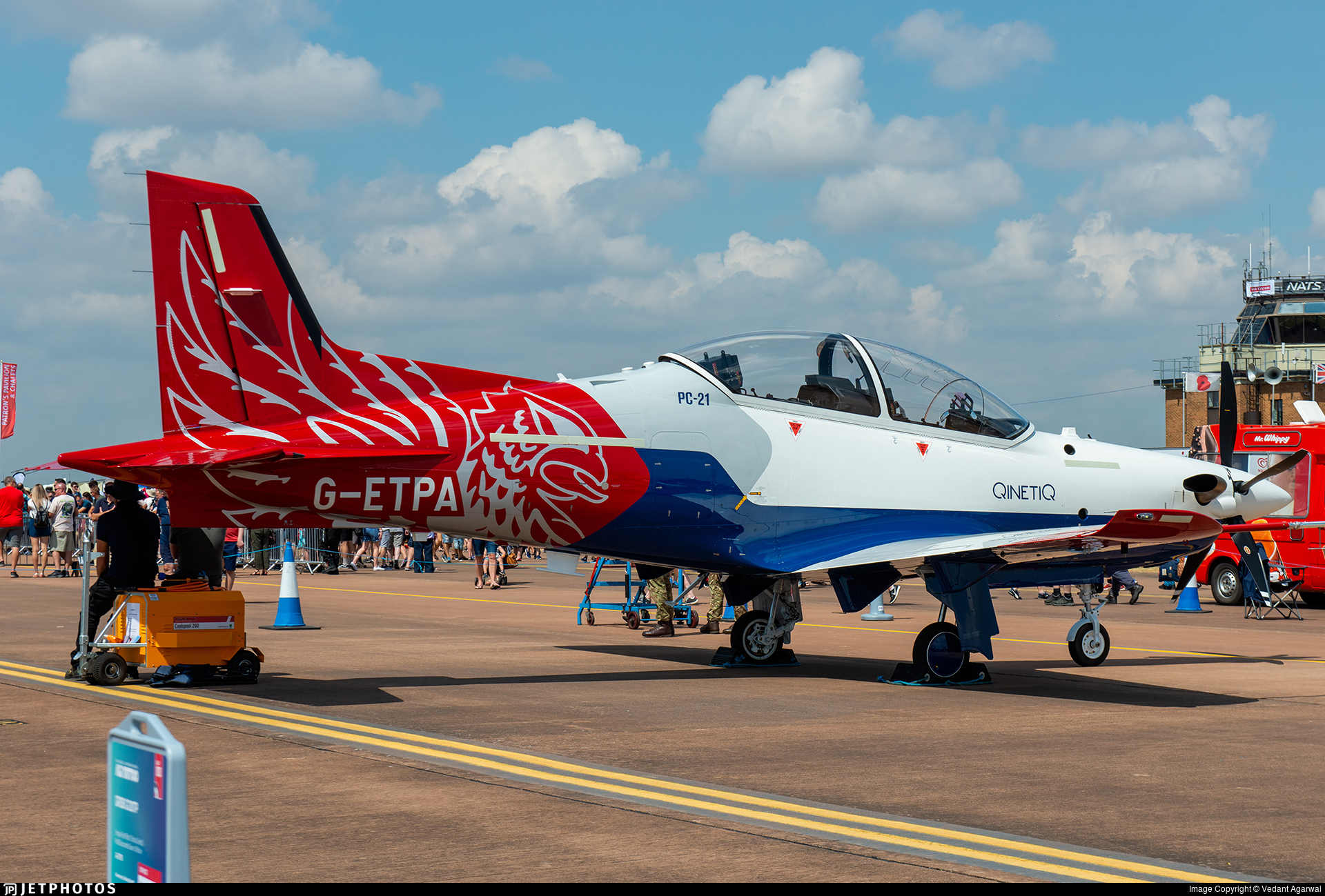 G-ETPA - Pilatus PC-21 - QinetiQ