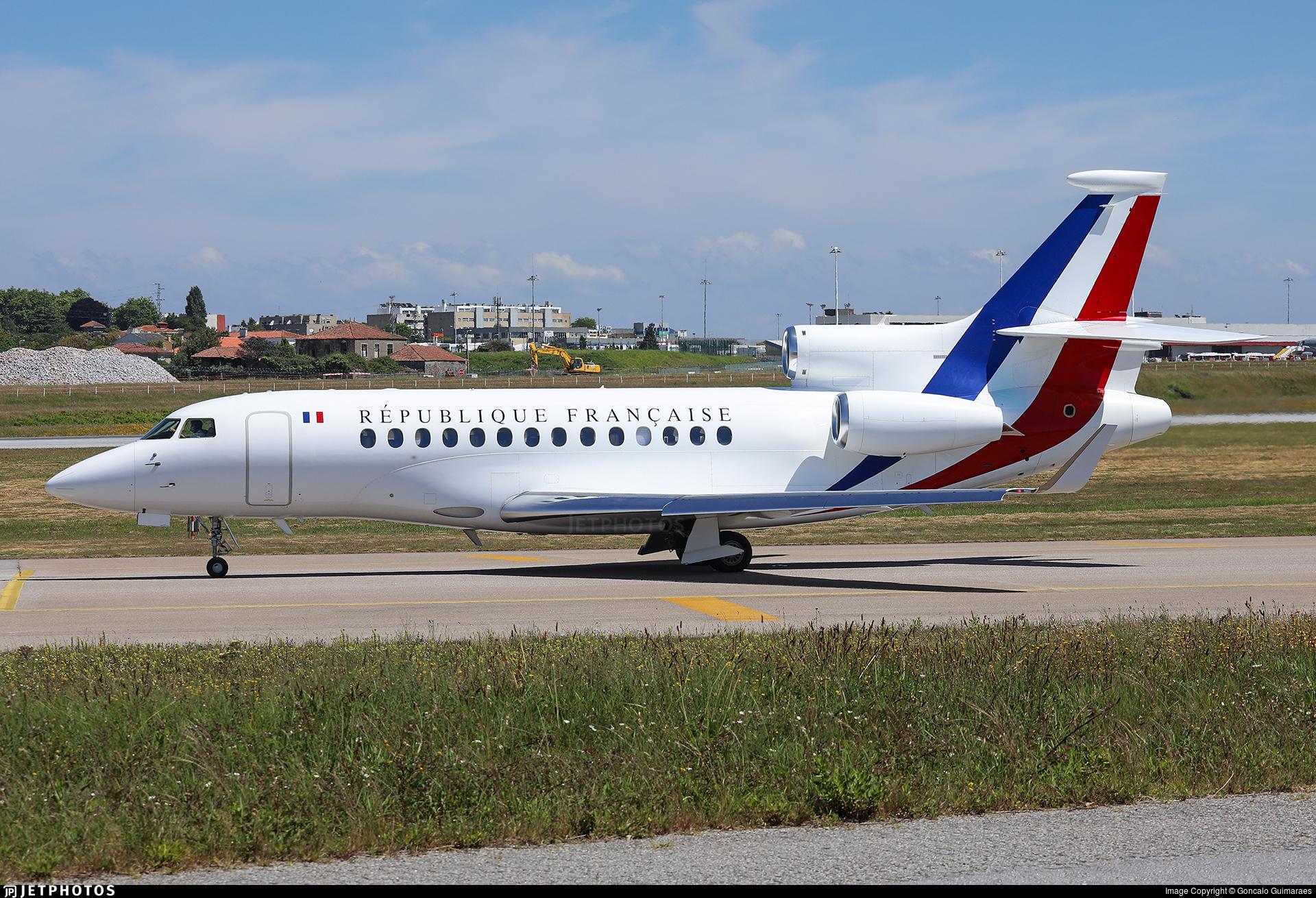 86 - Dassault Falcon 7X - France - Air Force