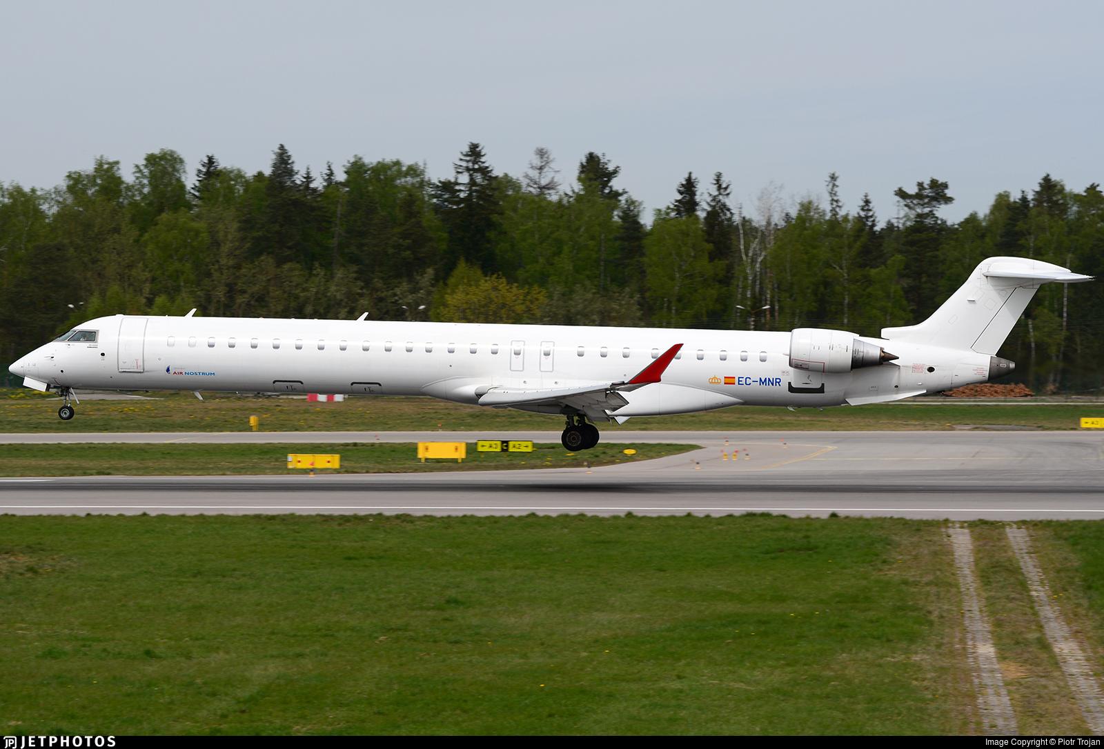 EC-MNR - Bombardier CRJ-1000 - Air Nostrum
