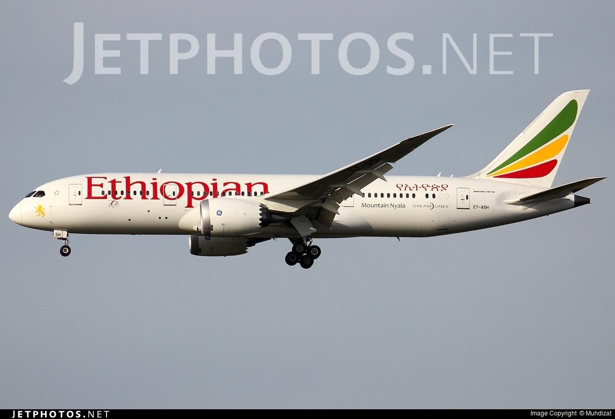 ET-ASH - Boeing 787-8 Dreamliner - Ethiopian Airlines