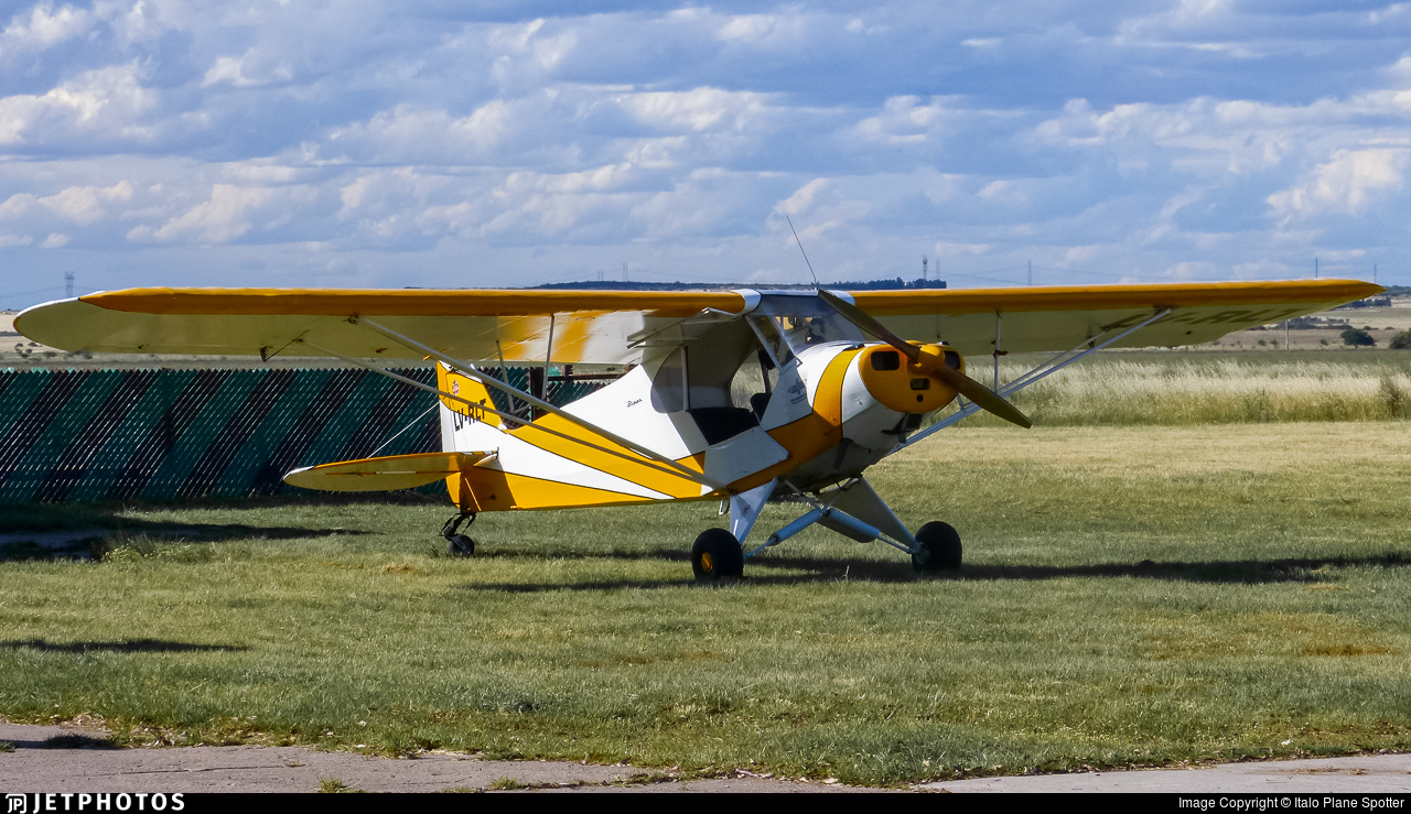 LV-RLT - Piper PA-11-90 Cub Special - Private