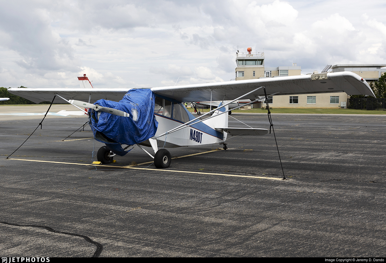 N49DT - Aeronca Champion 7GC Sky Trac - Private