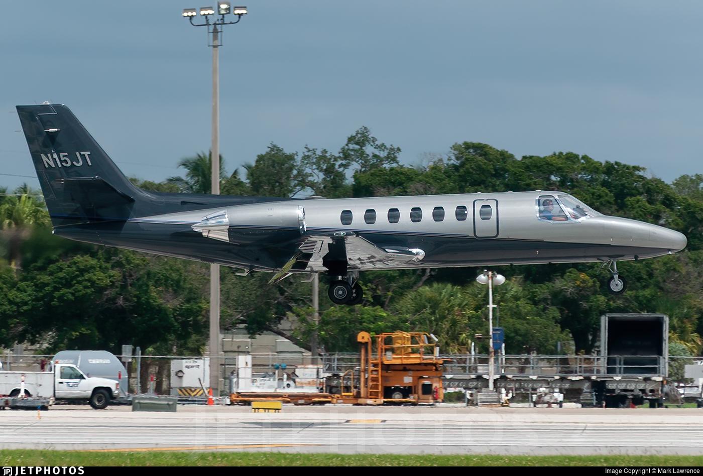 N15JT - Cessna 560 Citation V - Private