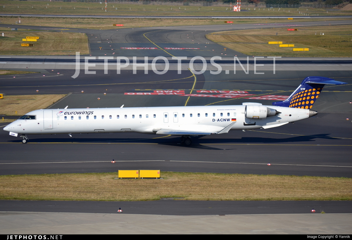 D-ACNW - Bombardier CRJ-900LR - Eurowings