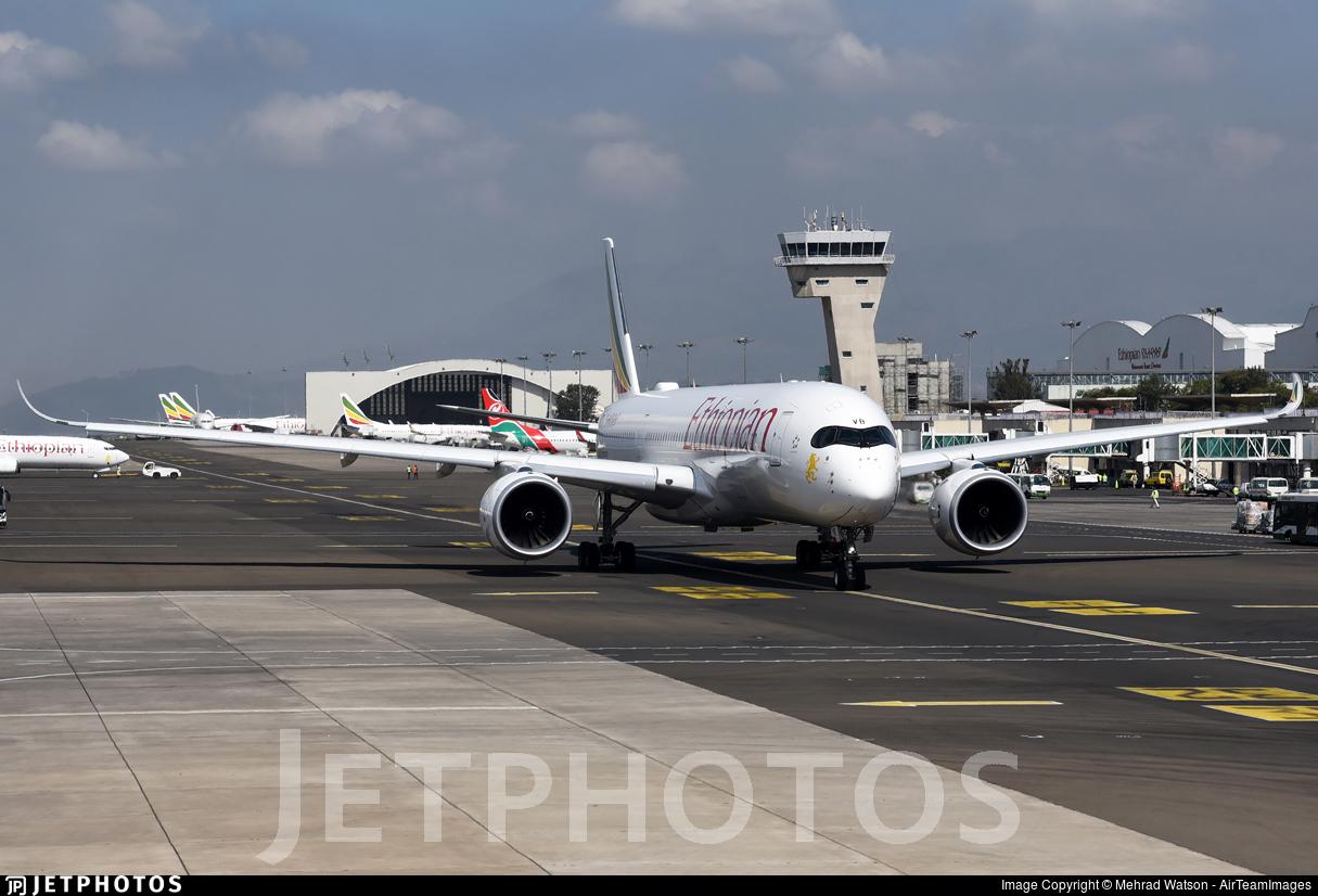 ET-AVB - Airbus A350-941 - Ethiopian Airlines