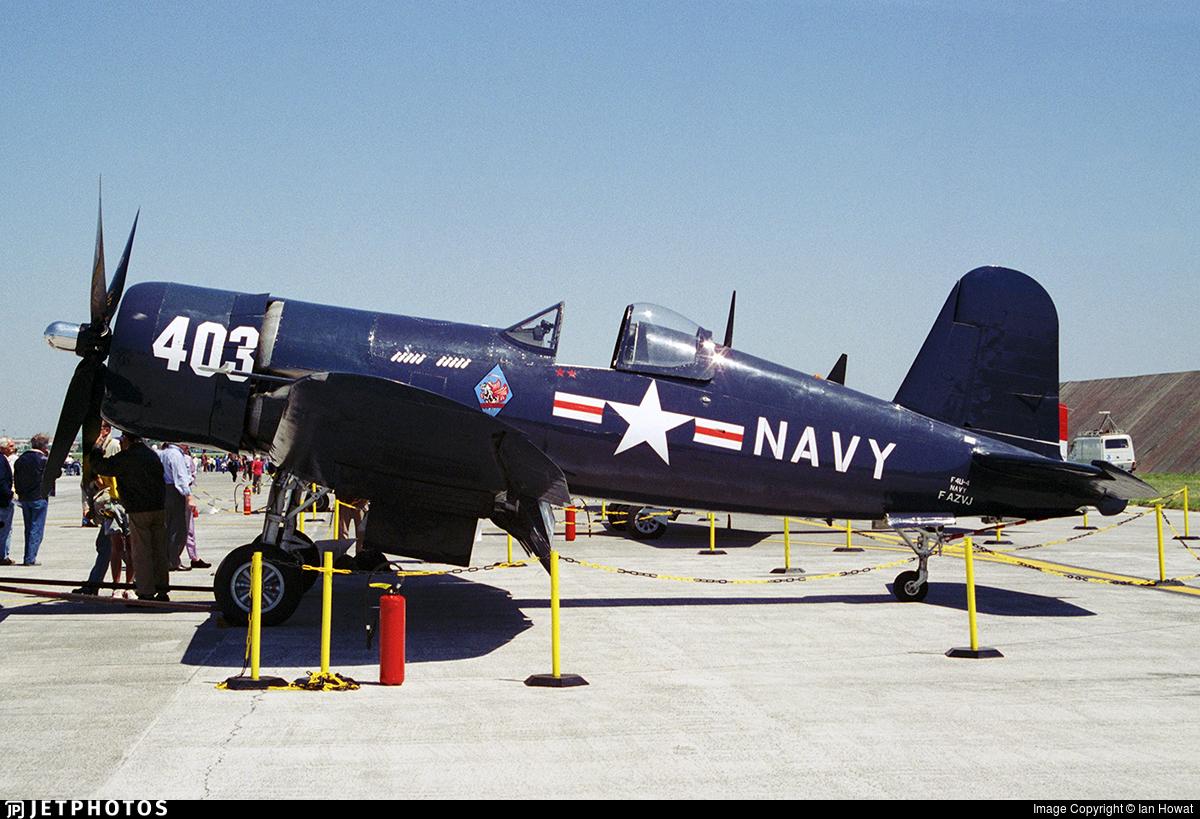F-AZVJ - Chance Vought F4U-4 Corsair - Private