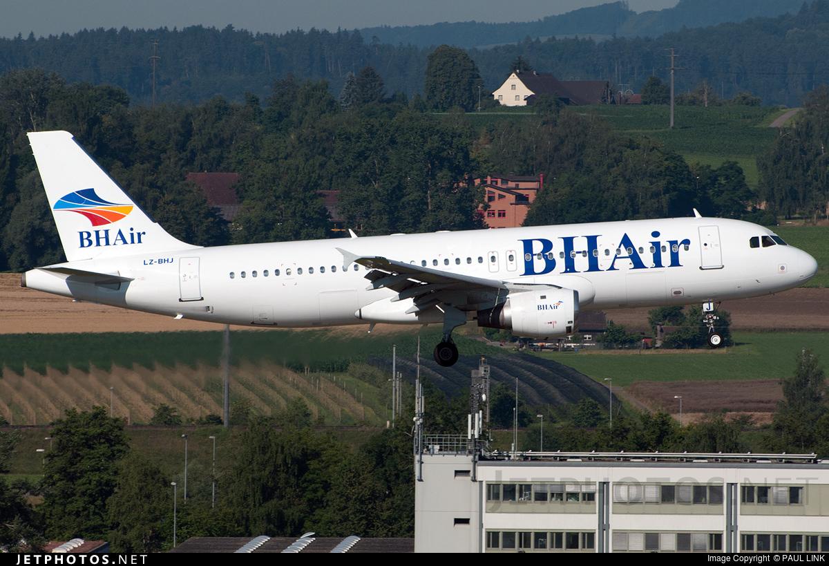 LZ-BHJ - Airbus A320-211 - BH Air