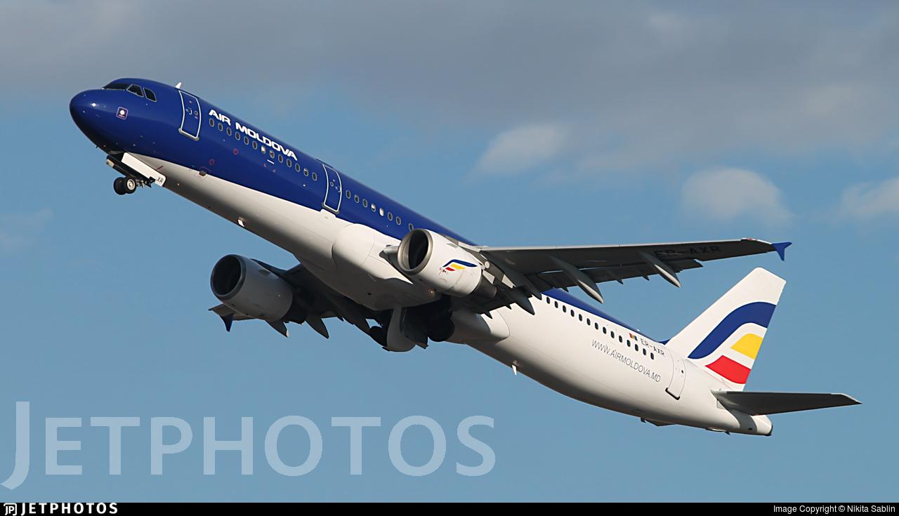 ER-AXR - Airbus A321-211 - Air Moldova