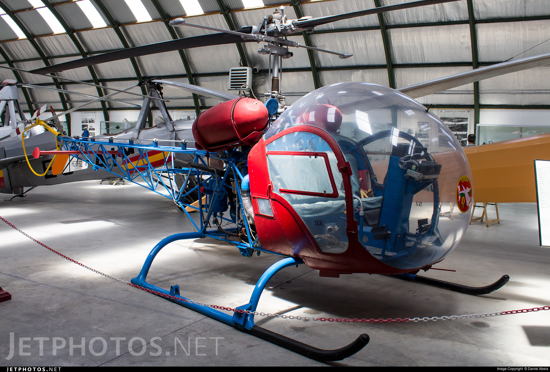 HE.7A-52 - Bell 47 - Spain - Air Force