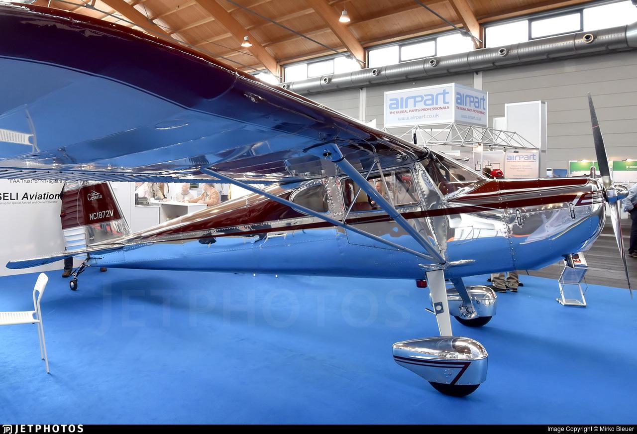 N1872V - Cessna 140 - Private