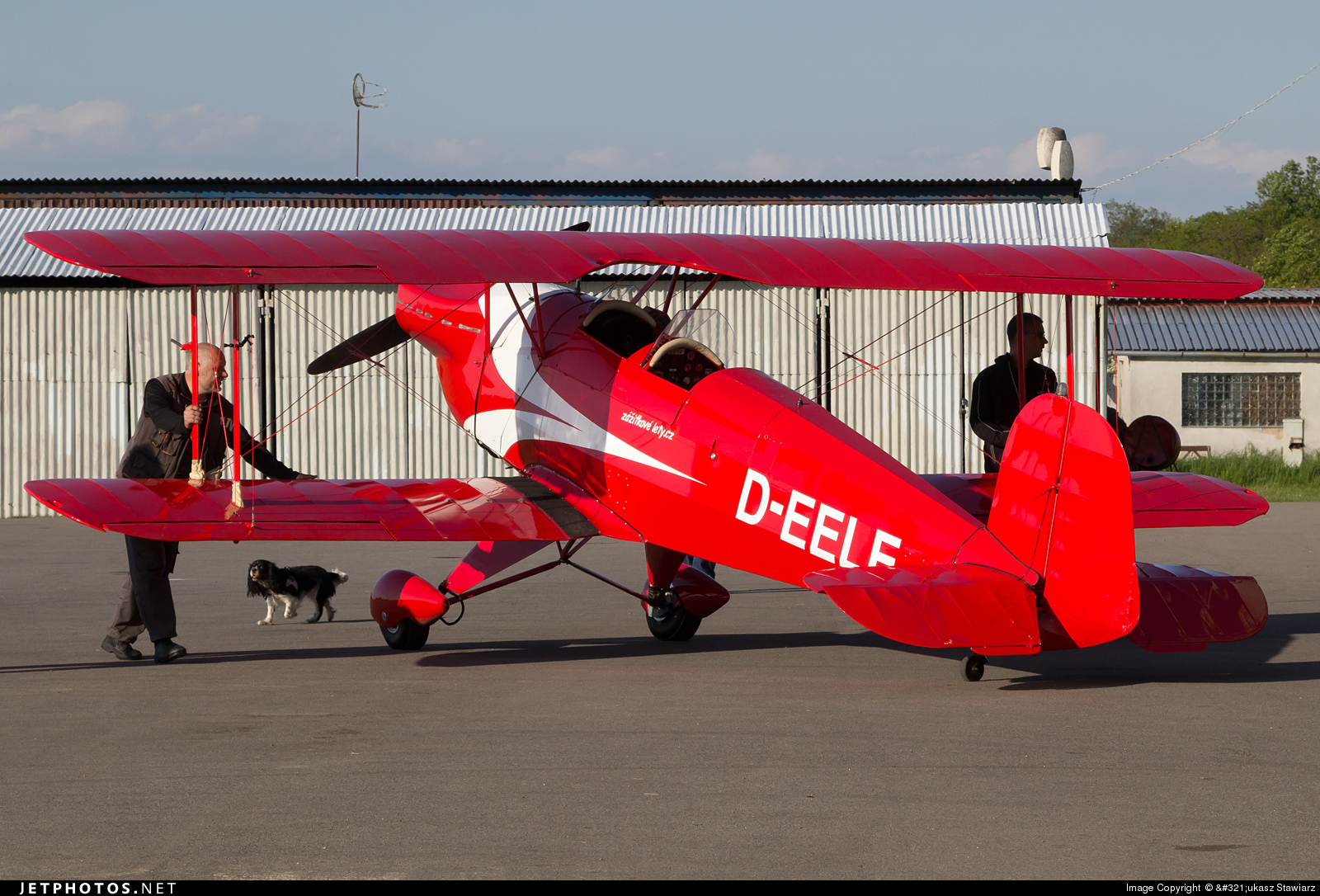 D-EELE - CASA 1.131E Jungmann - Private