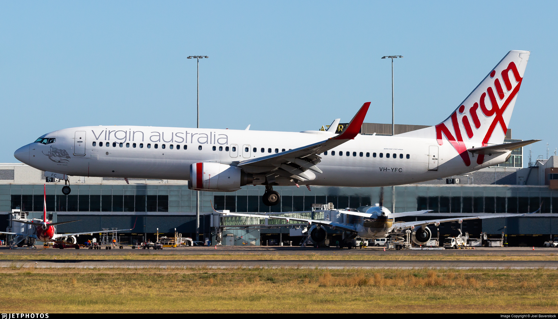 VH-YFC - Boeing 737-81D - Virgin Australia Airlines