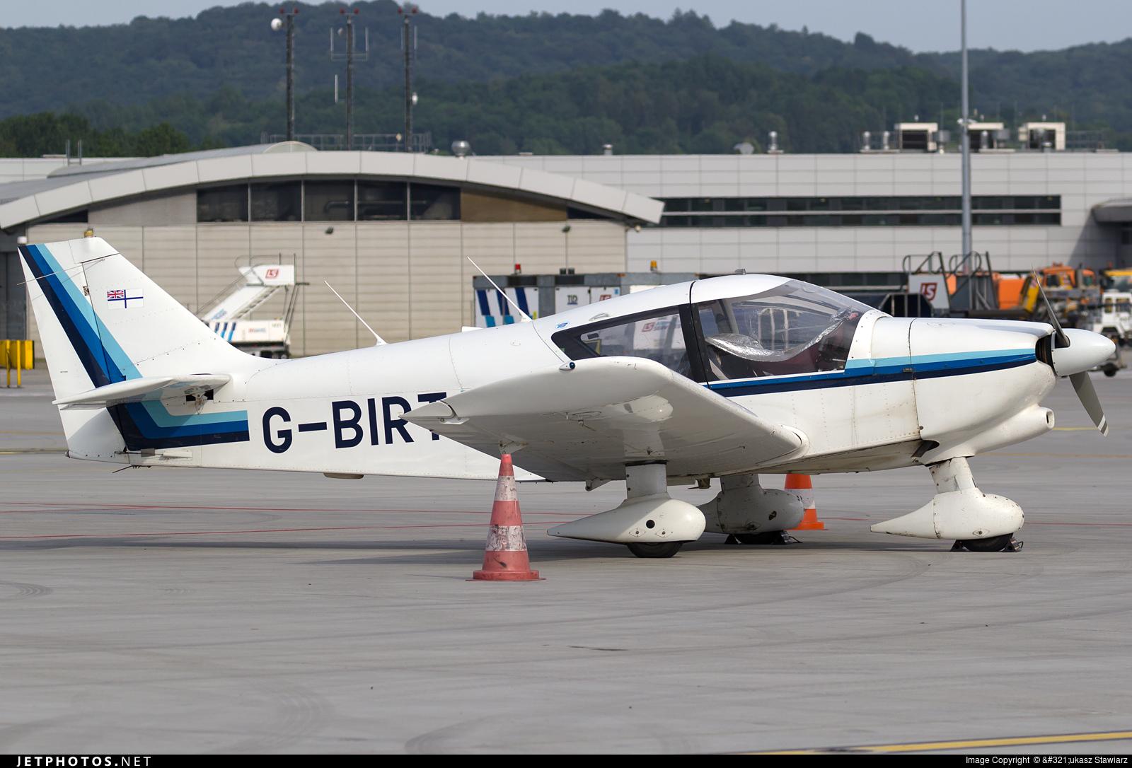G-BIRT - Robin R1180TD Aiglon - Private