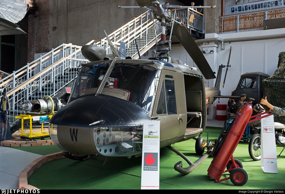 4D-BW - Agusta-Bell AB-204B - Austria - Air Force
