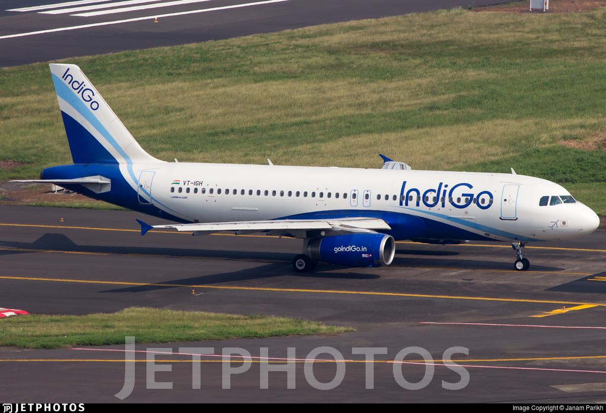 VT-IGH - Airbus A320-232 - IndiGo Airlines